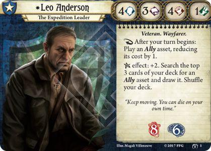 Leo Anderson Investigator Card