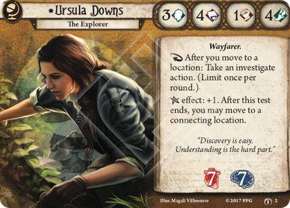 Ursula Downs Investigator Card
