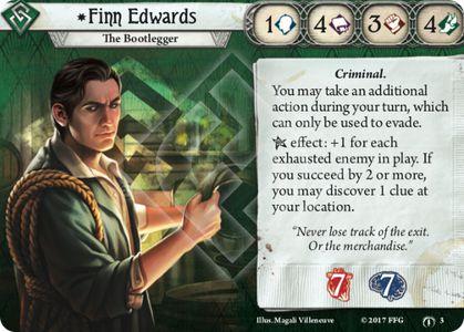 Finn Edwards Investigator Card