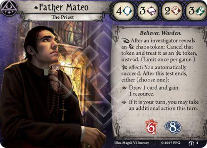 Father Mateo Investigator Card