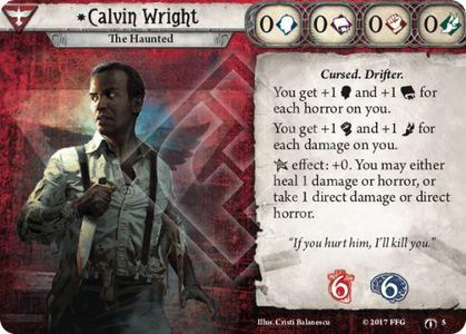 Calvin Wright Investigator Card
