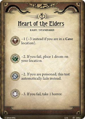 Heart of the Elders Scenario card
