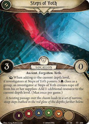 Steps of Yoth location card