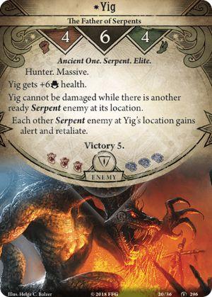 Yig encounter card