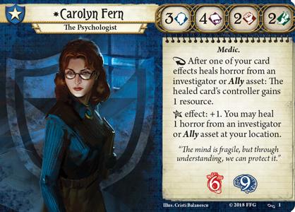 Carolyn Fern Investigator Card