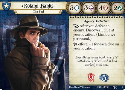 Roland Banks' Investigator Card