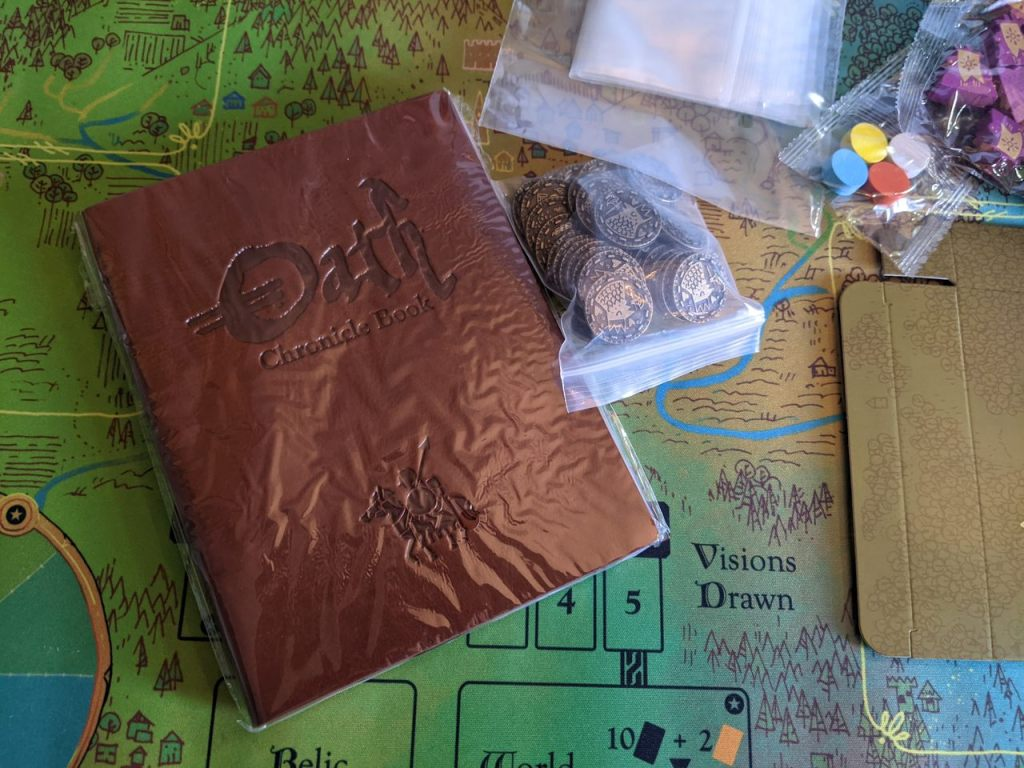 Oath journal and metal coins