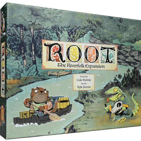 Box cover of the Root Riverfolk expansion.